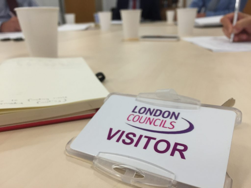 London Growth hub visitors pass