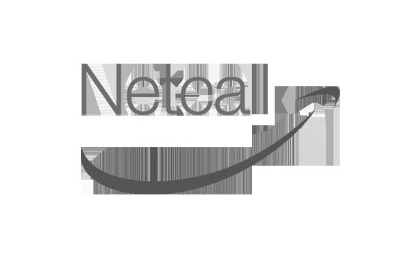 Netcall logo monochrome