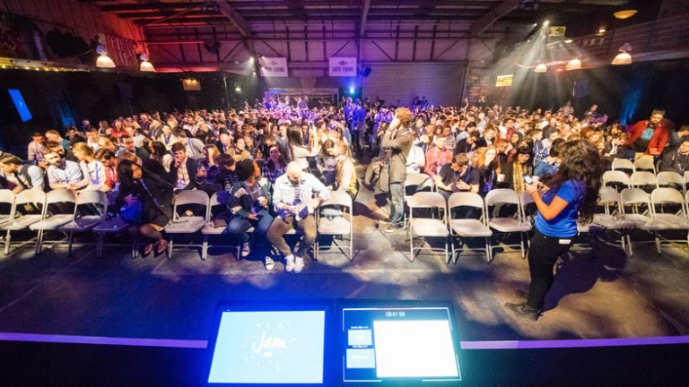 JAM 2017 crowd wide angle image