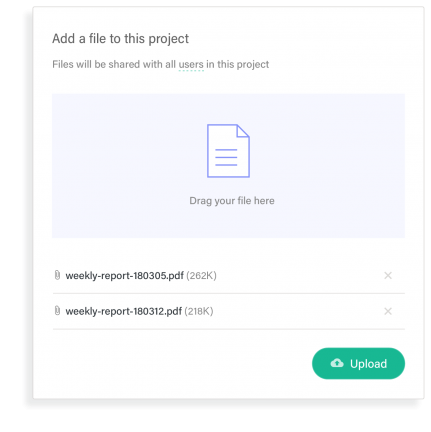 Document portal file upload example
