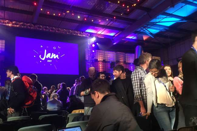 The crowd at the JAM 2017 event