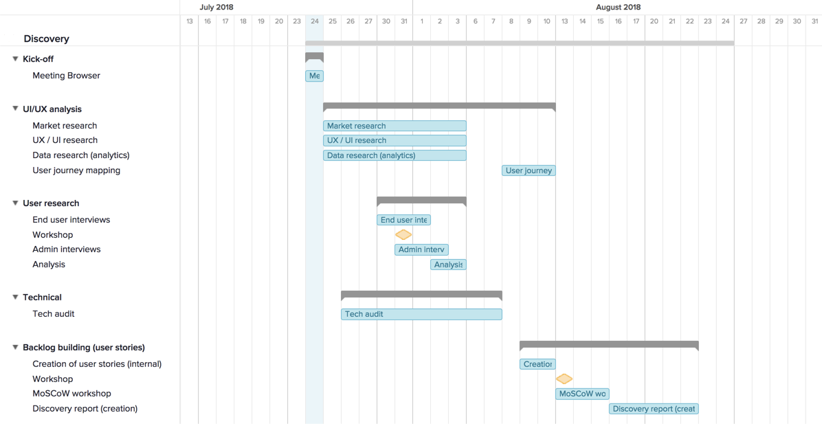 team gantt screenshot example