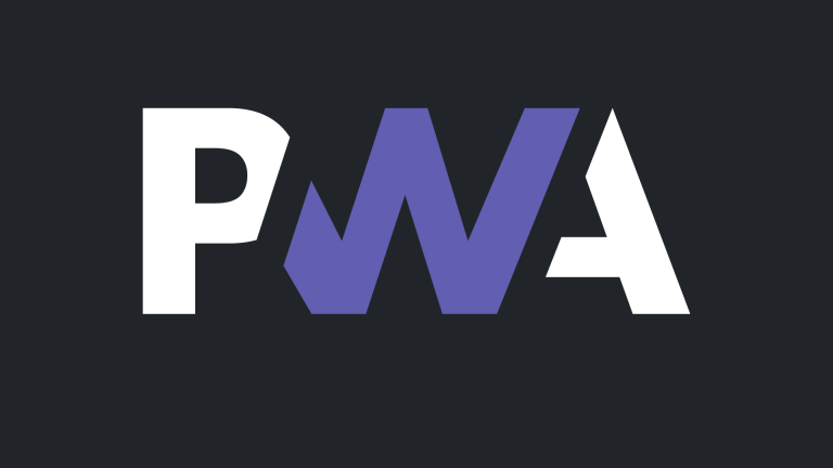 The community-proposed PWA logo