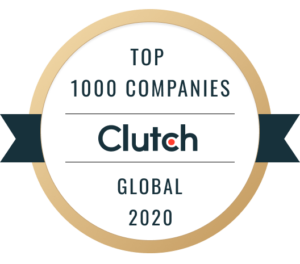 Clutch 1000 Top service providers award